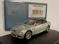 BMW M3 COUPE - E92 SILVER/BLUE, Oxford Diecast 1/76 New Release