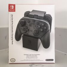 Official Nintendo Switch PowerA Joy-Con & Pro Controller Charging Dock - Sealed