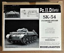 MODELKASTEN SK-54 - Pz.II.D (Early) - CINGOLI TRACKS - 1/35 PLASTIC KIT