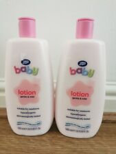 2x Boots baby lotion, suitable for newborns, hypoallergenic 500ml New