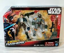 Star Wars Toy Set - Hero Mashers - Han Solo vs. Boba Fett