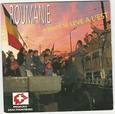 "ROUMANIE ""LE SOLEIL SE LEVE A L'EST"" 7"" 1990 MADE IN HOLLAND"