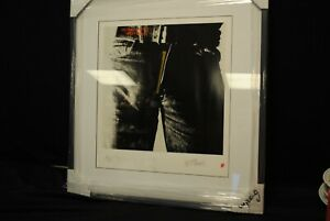 """ANDY WARHOL Limited Ed """"Rolling Stones Sticky Fingers"""" Lithograph"""