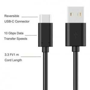 B&O PLAY Beoplay A1 USB C cable USB TYPE-C Cable, USB synchronization cable