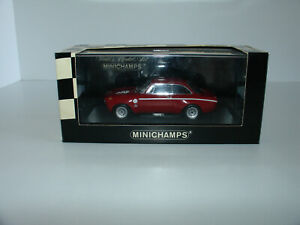 1/43 ALFA ROMEO GTA 1300 JUNIOR RED 1965 by MINICHAMPS