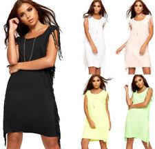 Vestiti da donna multicolore clubwear con scollo a v