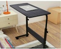 Height Adjustable Notebook Laptop Computer Desk Portable Table Stand Sofa Bed US