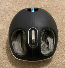 BROOKSTONE Shiatsu Foot Massager with Heat Rollers and Air Compression (E-8090)