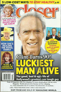 CLOSER, WEEKLY MAGAZINES   LOT OF 4     ISSUE, OF JUNE, JULY  &  AUGUST, 2020
