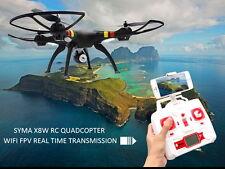 Syma X8W Wifi RC Quadricottero Drone 2.4G 6 assi 4CH RTF 2.0 MP Camera