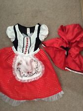 Little Red Riding Hood Costume 3-4 Years