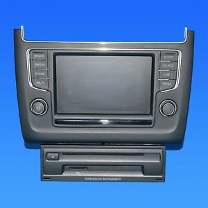 Polo 6C  Infotainment System CD Player with Touch Screen Display 6C0 919 603