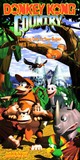 DONKEY KONG COUNTRY 1 NINTENDO POWER POSTER