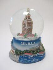 Sevilla Kathedrale Kirche Schneekugel Spanien Souvenir Snowglobe