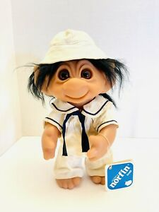 "1977 Norfin Sea P'Troll 9"" Sailor Troll Made In Denmark With Tag"