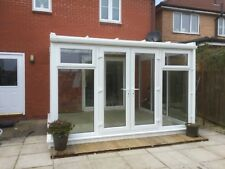 3.5m x 3m Lean to Conservatory with Global 600 roof Fully Fitted for £4,950