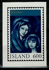 Photo Color Essay, Iceland Sc595 Christmas, Madonna and Child.