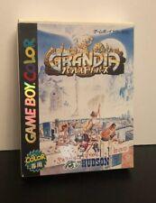 GRANDIA Parallel Trippers Game Boy Color Nintendo Japan Japanese Import