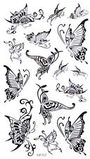 Tatouage Temporaire Papillons 15 Stickers body art