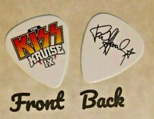 KISS KRUISE 2019 band signature tour logo guitar pick  PAUL STANLEY - (W)