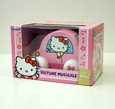 VILAC VOLTURE MUSICALE HELLO KITTY MACCHINA MUSICALE GIOCO GIOCATTOLO LEGNO 4813