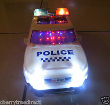 BMW POLICE CAR OFF ROAD STYLE CAR- ELECTRIC TOY WITH 3DLIGHTS SOUNDS-BOY GIRL-