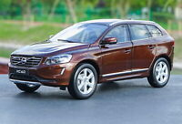 1/18 Scale VOLVO XC60 T6 AWD Brown Diecast Model Car Toy Collection