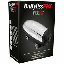 BaByliss PRO VibeFx Lithium Massager Cord/Cordless 2-Spd Stainless Steel FXSSM1