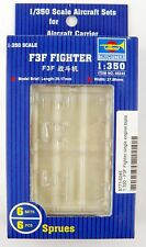 1:350 Scale F3F Fighter Model Aircraft Set (6 per box) - Trumpeter #06245