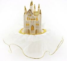 """Birthday/Wedding White Castle Cake Top 7"""" tall 6"""" wide"""