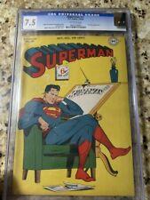 Superman 41 CGC 7.5 Universal Grade