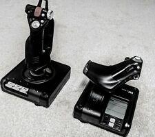 SAITEK X52 Pro Flight Control System Logitech Gaming FSX Flight Simulator