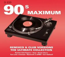 90's Maximum - Remixes & Club Versions - 3cd Set - New & Sealed - 1st Class Post