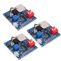 3Pcs Voice Playback Module MP3 Player UART I/O Trigger Amplifier Class D 5W