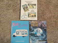 "Lot Of 3 Stained Glass Pattern Books ""For Him"" ""I Love Horses"" & ""Kid Zone"""