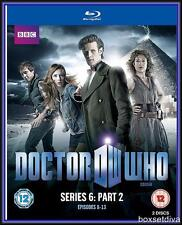 DOCTOR WHO - SERIES 6 - PART  2  -Matt Smith & Amy Pond*BRAND NEW BLU-RAY