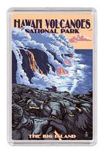 "Hawaii Volcanoes National Park Fridge Magnet Travel Souvenir 2""x3"" Vintage-2"