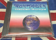 IRON MAIDEN Maiden Europe 1992 ( RARE LIVE CD )