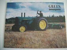 John Deere 1952 R Tractor Green Magazine March 1993