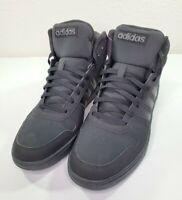 adidas Hoops 2.0 Mid Shoes Men Size 12 Black Basketball