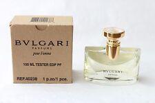 bulgari bvlgari pour femme for women edp 100ml 3.4 oz ts parfum duft