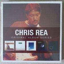 5 CD  *** CHRIS REA. ORIGINAL ALBUM SERIES  ***  NEUF
