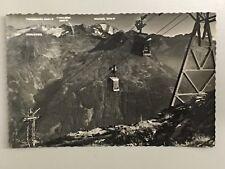 S/W AK BAD GASTEIN - STUBNERKOGEL BERGBAHN SEILBAHN 1956 AUSTRIA Sonderstempel