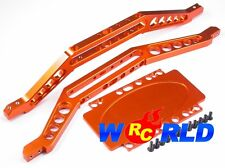 ALLOY CHASSIS BRACE w/LOWER PLATE OR NEW EXTENDED E-MAXX T-MAXX 3.3 BRUSHLESS