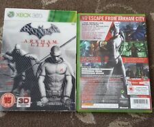 BATMAN ARKHAM CITY XBOX 360 INCLUDES 3D LENTICULAR SLIPCASE