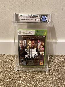 Grand Theft Auto IV Complete Edition Graded WATA 9.2 A+ New Microsoft Xbox 360