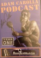 Adam Carolla SIGNED Autographed PODCAST YEAR ONE DVD 2-disc set GD free shipping