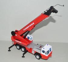 Plastic ' Pompiers ' Crane Truck.