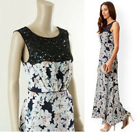 ex Monsoon Dress - Monsoon Karmen Print Maxi Summer Dress