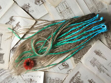 Buy synthetic DREADS Brown blond blue green dreadlock extensions